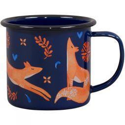 Wild and Wolf Folklore Enamel Mug Fox