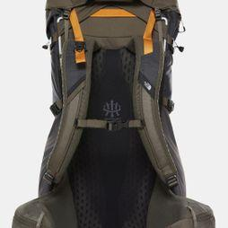 The North Face Terra 55-Litre Hiking Backpack Tnf Dark Grey Heather/New Taupe Green