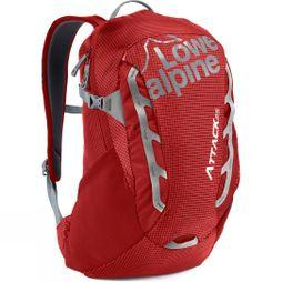 Lowe Alpine Attack 25 Rucksack Pepper Red /  Mid-Grey