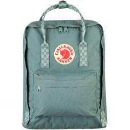 Fjallraven Kånken Rucksack Frost Green/Chess Pattern