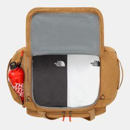 The North Face Berkeley Duffel Bag British Khaki Light Heather/Weimaraner Brown Light Heather