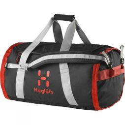 Haglofs Lave 70 Duffle Bag True Black/Habanero