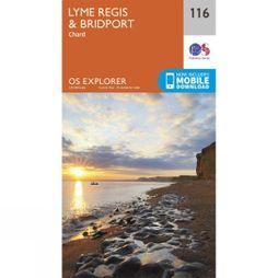 Explorer Map 116 Lyme Regis and Bridport