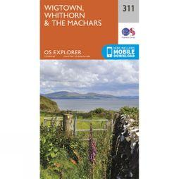 Ordnance Survey Explorer Map 311 Wigtown, Whithorn and The Machars V15