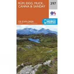 Ordnance Survey Explorer Map 397 Rum, Eigg, Muck, Canna and Sanday V15