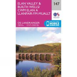 Landranger Map 147 Elan Valley and Builth Wells
