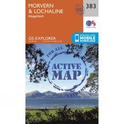 Ordnance Survey Active Explorer Map 383 Morvern and Lochaline V15