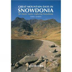 Cicerone Great Mountain Days in Snowdonia No Colour