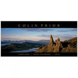 Scotland Panoramic Desk Calendar 2016