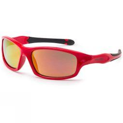 Bloc Kids Spider Sunglasses Shiny Red/Red mirror