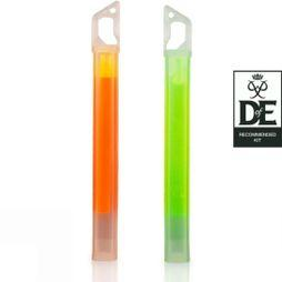 Lifesystems 15 Hour Lightsticks x2 Orange/Green
