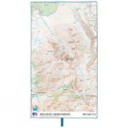 Lifeventure SoftFibre Ordnance Survey Travel Towel Ben Nevis