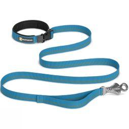 Ruff Wear Flat Out Dog Leash Baja Blue
