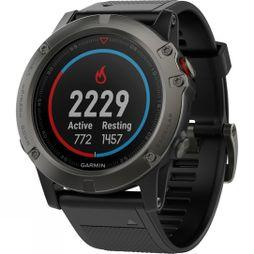 Garmin Fenix 5X Sapphire Multisport GPS Watch Slate Grey/Black