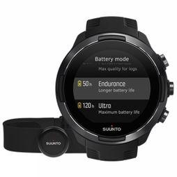Suunto 9 Baro GPS Multisport Watch + HR Belt Baro Black