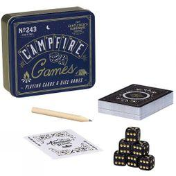 Gentlemen's Hardware Campfire Playing Cards & Dice No Colour