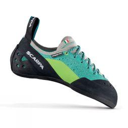 Scarpa Womens Maestro Climbing Shoe Green-Blue