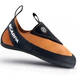 Scarpa Instinct Junior Rock Shoe Orange/Black