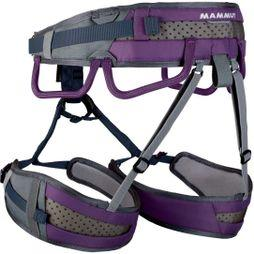 Mammut Womens Ophir 3 Slide Harness Titanium/Dawn