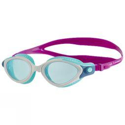Speedo Futura Biofuse Flexiseal Female Goggle  Lava/ White/ Peppermint