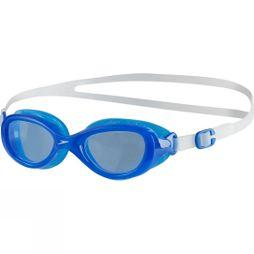 Speedo Kids Futura Classic Junior Goggle Clear/ Neon Blue