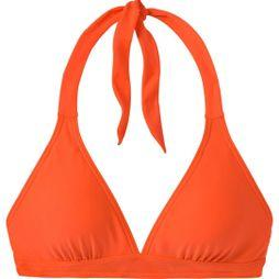 PrAna Womens Lahari Halter Bikini Top Electric Orange