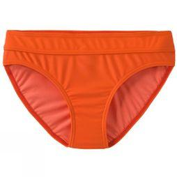 PrAna Womens Ramba Bikini Bottom Electric Orange