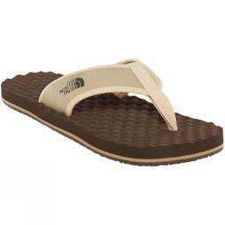 The North Face Mens Base Camp Flip Flop Kelp Tan/Demitasse Brown