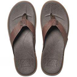 Reef Mens Contoured Voyage Flip Flop Brown