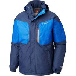 Columbia Men's Alpine Action Jacket Coll Navy/ Azul Matrix Print