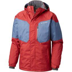 Columbia Men's Alpine Action Jacket Red Element/ Dark Mountain