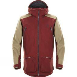 Haglofs Mens Chute II Jacket Dark Ruby/Oak