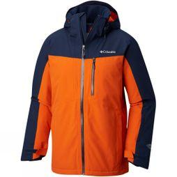 Columbia Mens Wild Card Jacket Coll Navy/ Backcountry Orange