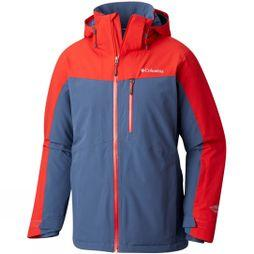Columbia Mens Wild Card Jacket Red Spark/ Dark Mountain