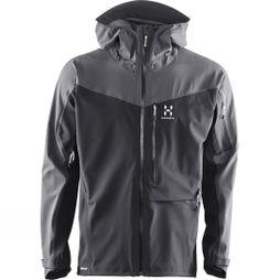 Haglofs Men's Touring Proof Jacket True Black / Magnetite