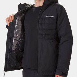 Columbia Mens White Horizon Hybrid Jacket Black