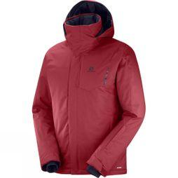 Salomon Mens Stormpunch Jacket Biking Red