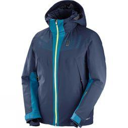 Salomon Mens Whitezone Jacket Night Sky