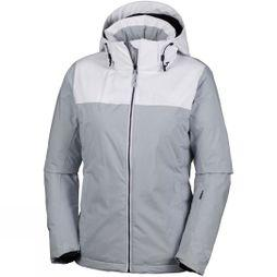 Columbia Womens Snow Dream Jacket  Cirrus Grey Heather / White