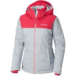 Columbia Womens Snow Dream Jacket  Cirrus Grey Hthr/ Cactus Pink