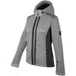 Dare 2 b Womens Verify Softshell Top Silver Flash