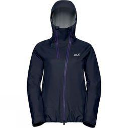 Jack Wolfskin Womens Exolight Range Jacket Midnight Blue