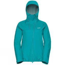 Jack Wolfskin Womens Exolight Range Jacket Aquamarine