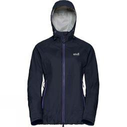 Jack Wolfskin Womens Exolight Slope Jacket Midnight Blue