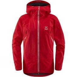 Haglofs Womens Couloir Jacket Rich Red