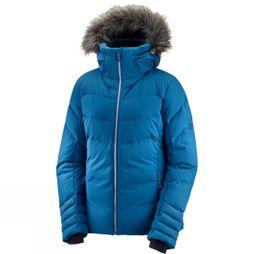 Salomon Womens Icetown Jacket Poseidon