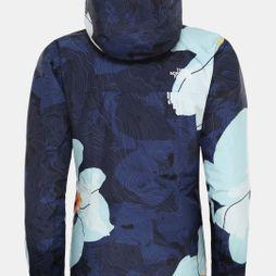 The North Face Womens Descendit Jacket Flag Blue Rom Print