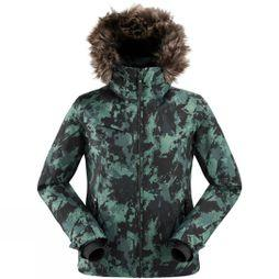 Eider Women's The Rocks Print Jacket Dark Green Camo