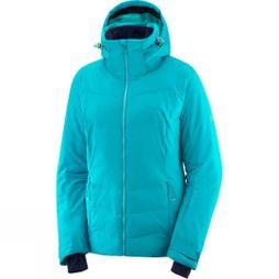 Salomon Womens Icepuff Jacket Tile Blue