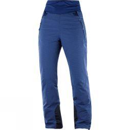 Salomon Womens Catch Me Pants Medieval Blue